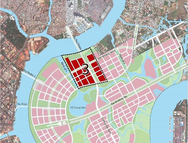 TP.HCM: Đấu giá hơn 8.500 m2 trong Khu đô thị mới Thủ Thiêm