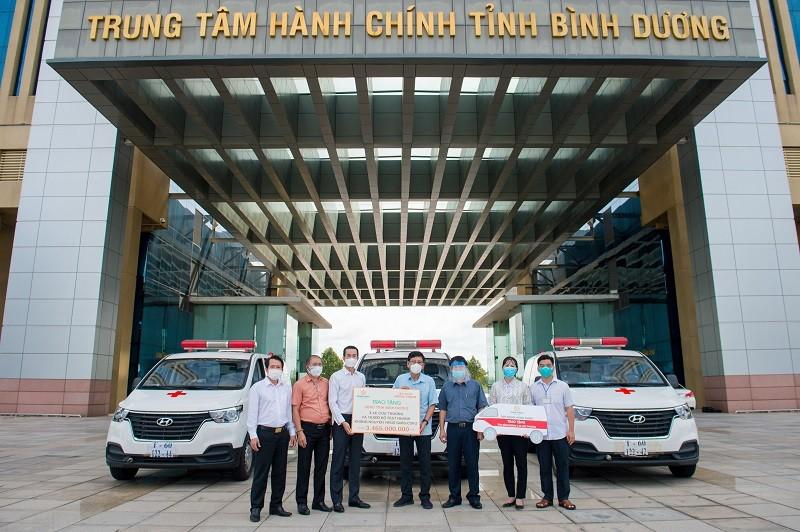 Tập đoàn Hưng Thịnh tiếp tục hỗ trợ gần 11 tỷ đồng cùng nhiều tỉnh, thành chống dịch Covid-19