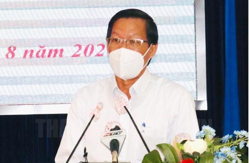 Ông Phan Văn Mãi: 4,5 triệu người dân TP.HCM đã tiêm vắc xin, tỷ lệ đạt 64%