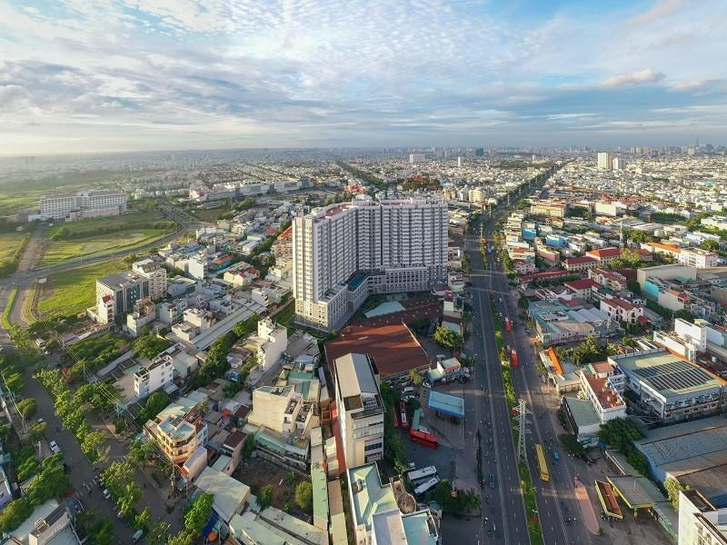 Thị trường căn hộ TP.HCM giảm nguồn cung