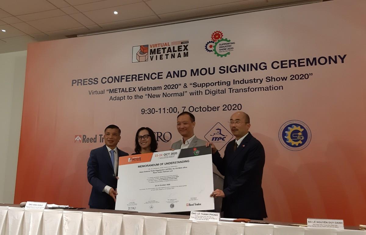 Triển lãm METALEX Vietnam 2020 được tổ chức dưới hình thức trực tuyến