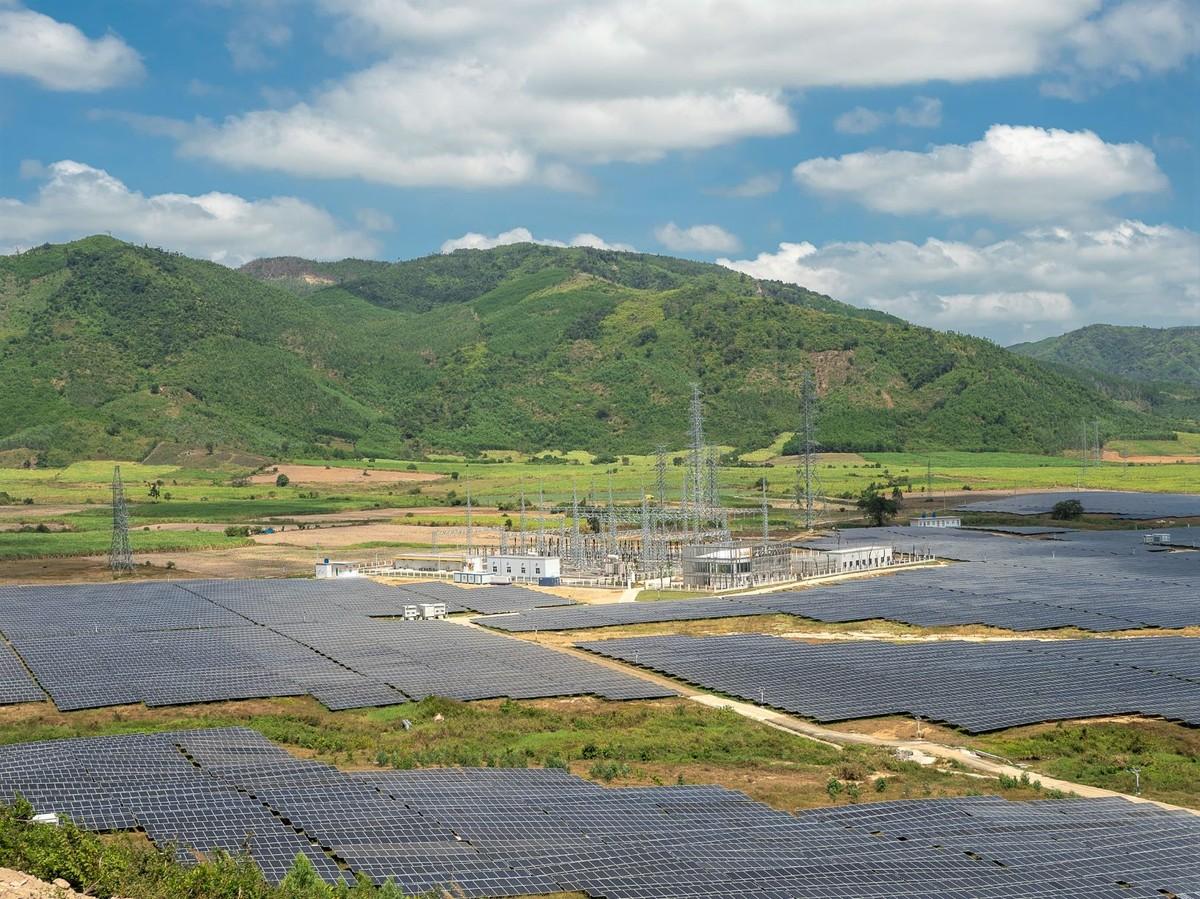 JICA hỗ trợ vốn dự án nhà máy điện mặt trời Phú Yên
