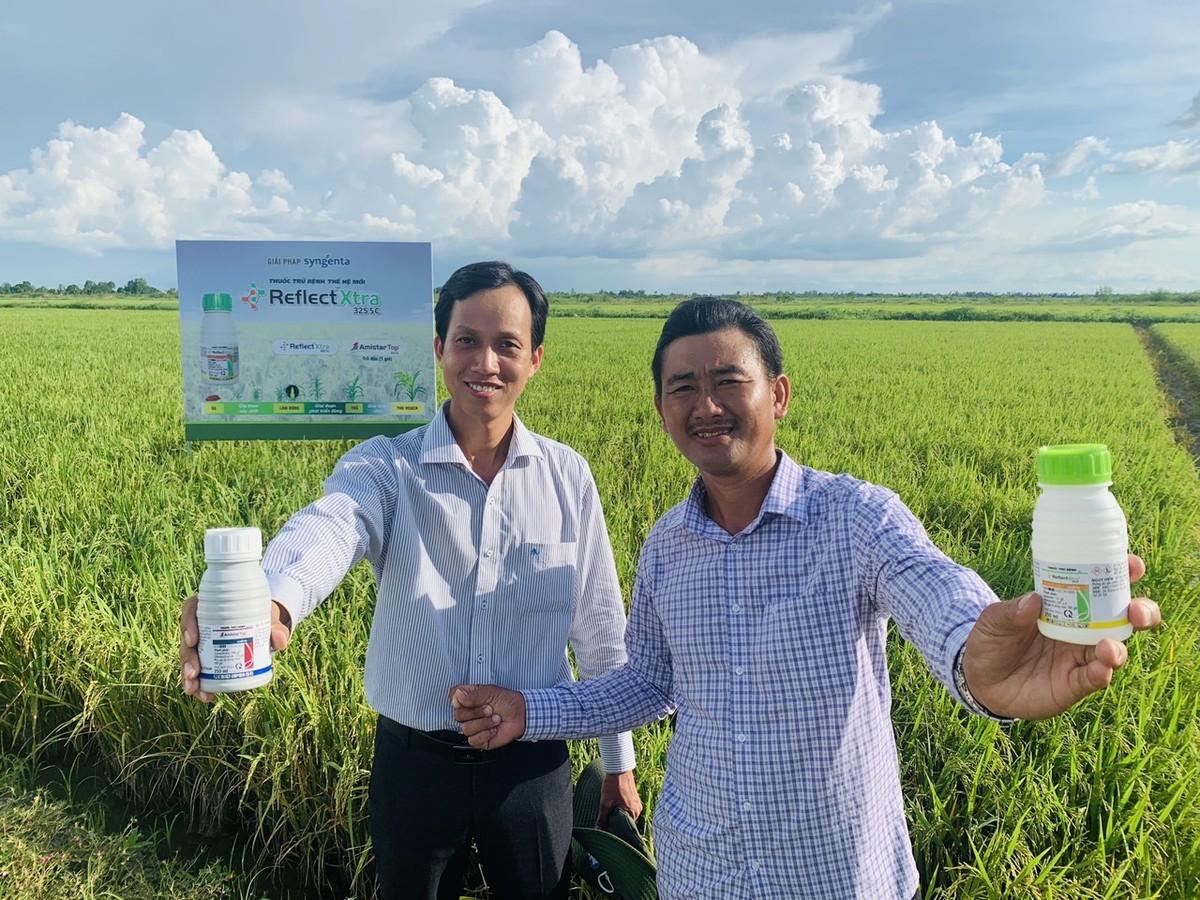 Syngenta Việt Nam lần đầu giới thiệu công nghệ mới kiểm soát bệnh hại trên lúa