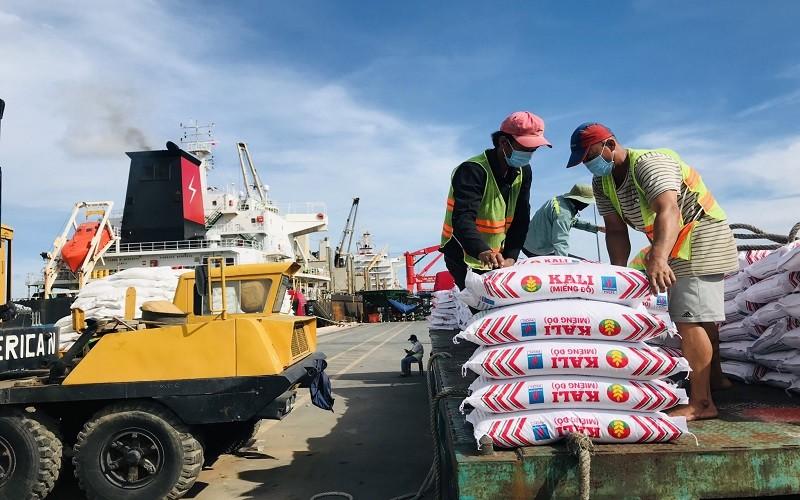 Thiếu Kali cho sản xuất nông nghiệp, PVCFC vừa  nhập về 15.000 tấn từ Israel
