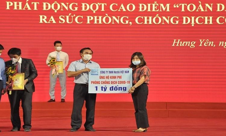 Nestlé Việt Nam ủng hộ  4 tỷ đồng vào Quỹ vaccine phòng COVID-19