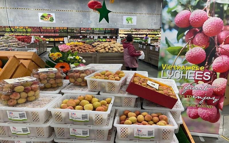 Mở đường xuất khẩu rau quả vào châu Âu - kinh nghiệm từ vải thiều