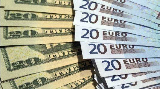 Đồng USD xuống đáy 3 tuần so với euro