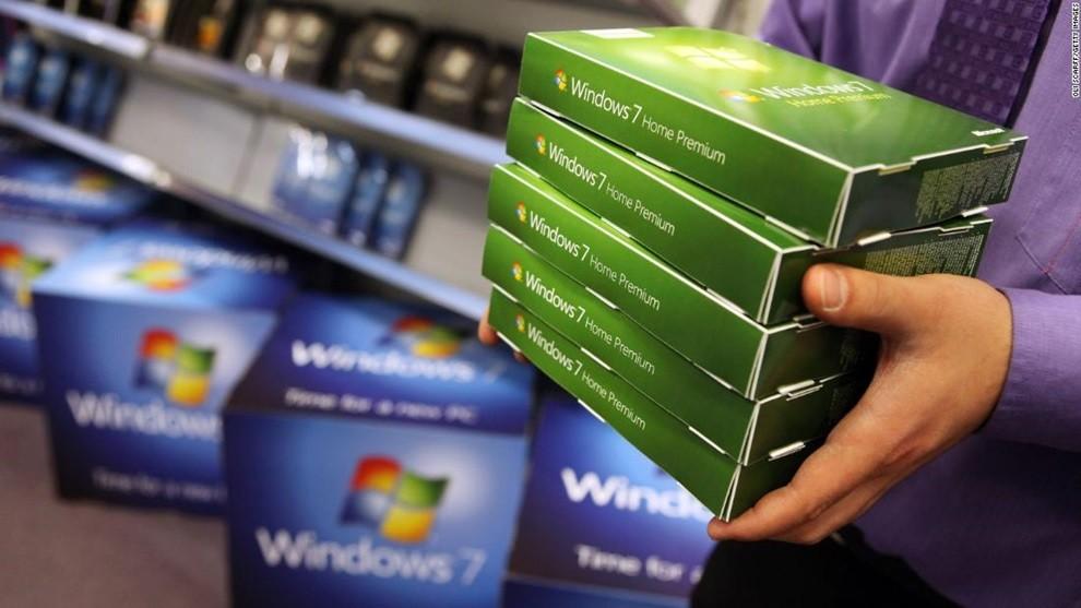 """Công nghệ 24h: Windows 7 chính thức """"khai tử"""""""