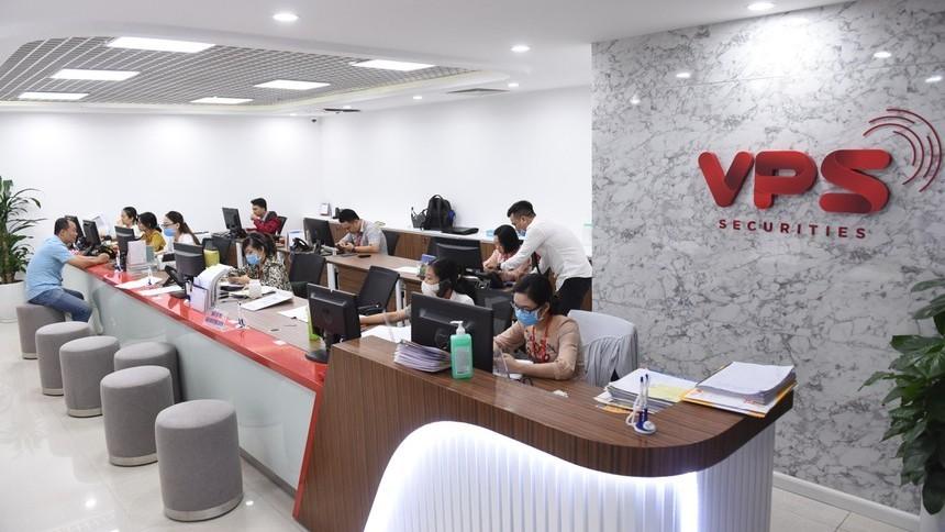 VPS đứng đầu thị phần HNX, UPCoM và áp đảo ở mảng phái sinh