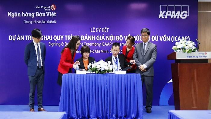Ngân hàng Bản Việt tiếp tục triển khai sớm Dự án Basel II nâng cao