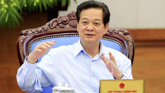 """Thủ tướng Nguyễn Tấn Dũng: """"Giàn khoan 981 làm Việt Nam mất 1 triệu khách du lịch"""""""