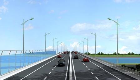 Chuyển mục đích sử dụng hơn 14ha đất trồng lúa xây dựng cầu Việt Trì mới