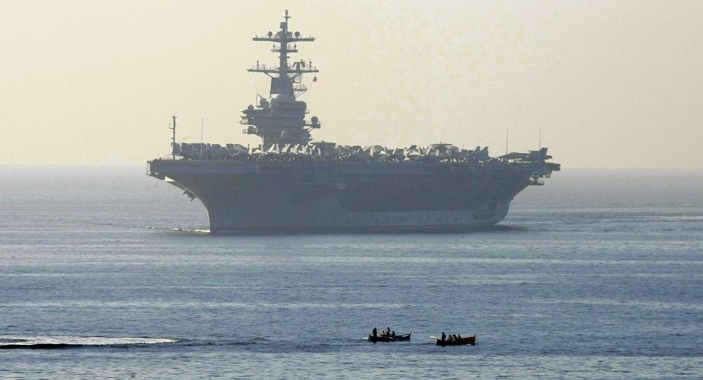 Mỹ cử tàu sân bay hạt nhân tiến vào Đại Tây Dương vì lo sợ tàu trinh sát Nga