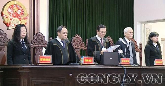 Ông Đinh La Thăng phải bồi thường 30 tỷ đồng, Trịnh Xuân Thanh 34,375 tỷ đồng