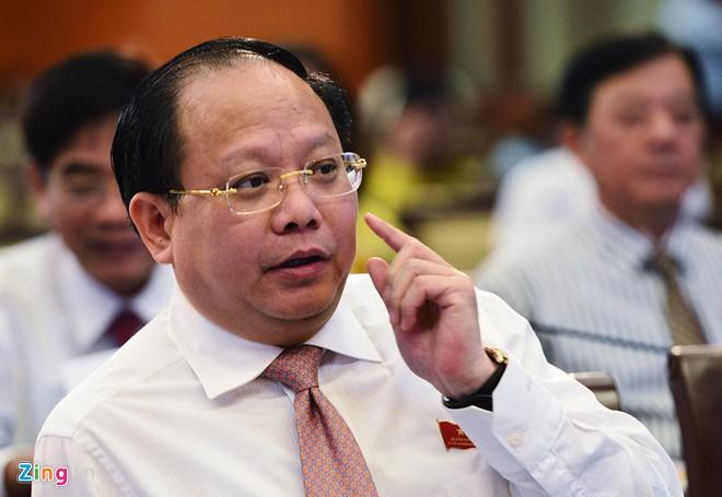 Ông Tất Thành Cang nghỉ phép, TP.HCM cử người đảm nhiệm công việc thay