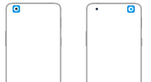 """Oppo đăng ký sáng chế che """"nốt ruồi"""" trên smartphone"""