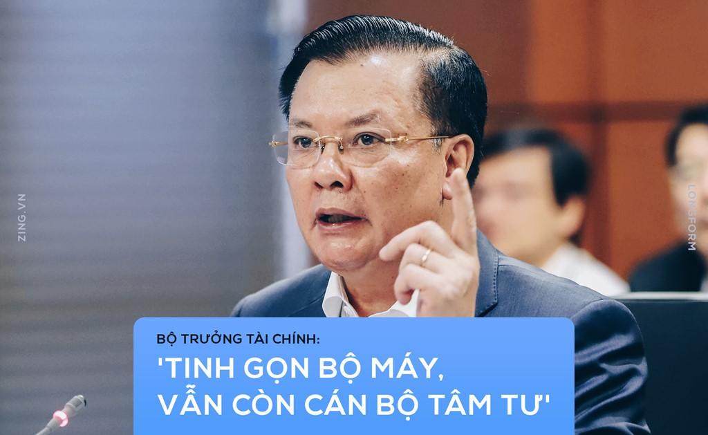 Bo truong Tai chinh: 'Tinh gon bo may, van con can bo tam tu' hinh anh 2