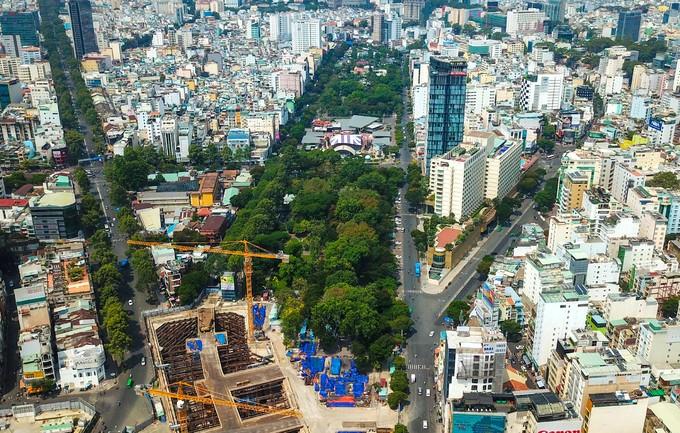 [Ảnh] Hiện trạng Công viên 23 tháng 9 ở Sài Gòn trước khi được cải tạo