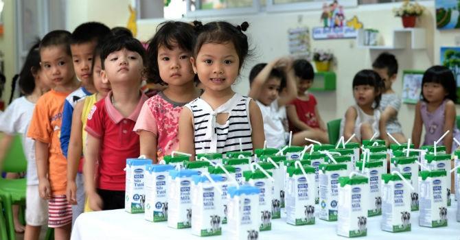 Sữa học đường - Sữa không là chưa đủ!