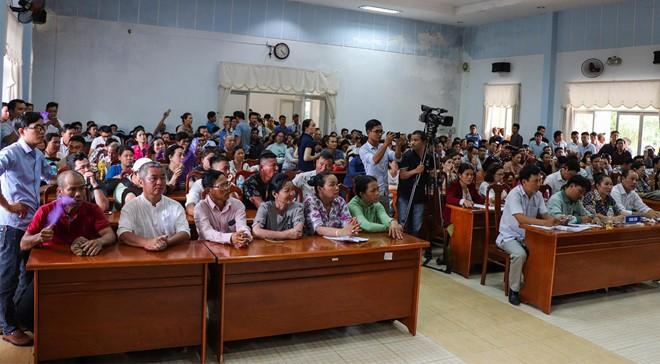 Bí thư, Chủ tịch Quảng Nam đối thoại cùng người mua đất Bách Đạt An