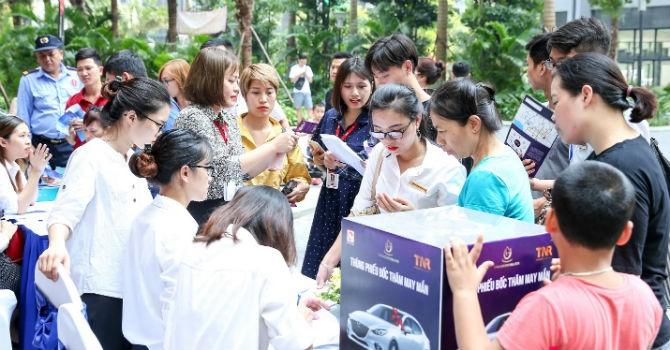 Gần 500 khách hàng tham dự sự kiện tri ân dự án TNR Goldmark City