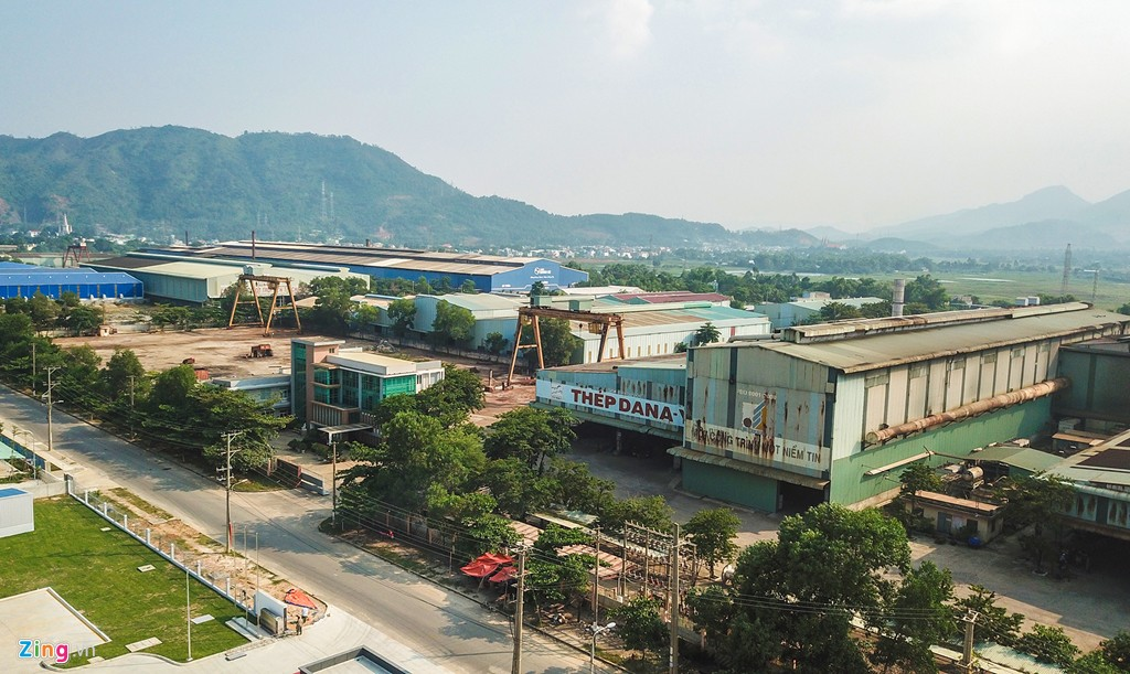 Cảnh hoang tàn ở nhà máy thép của doanh nghiệp kiện UBND Đà Nẵng