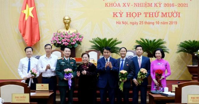 Hà Nội miễn nhiệm, bầu bổ sung nhiều nhân sự