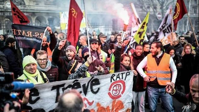 Cuộc đình công của người lao động Pháp sắp phá kỷ lục