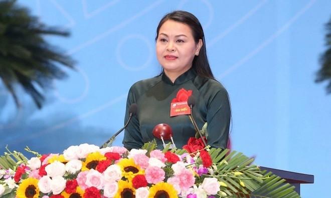 Chủ tịch Hội Liên hiệp Phụ nữ Việt Nam làm Bí thư Tỉnh ủy Ninh Bình