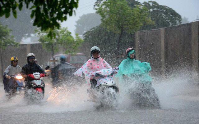 Bắc Bộ có mưa dông sau những ngày nắng nóng