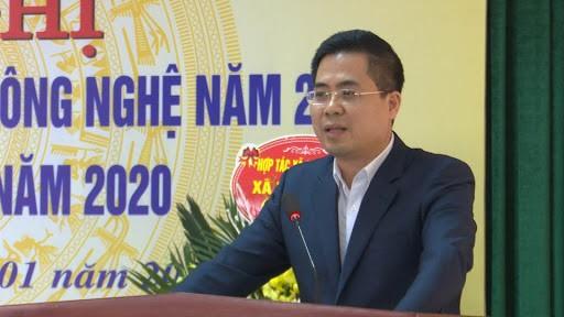 Phó Chủ tịch tỉnh Thái Bình làm Thứ trưởng Bộ Khoa học và Công nghệ