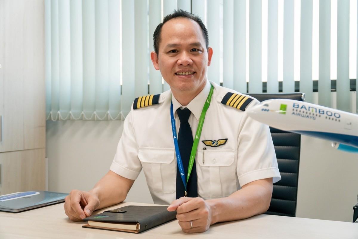 """""""An toàn và minh bạch là tiêu chí hàng đầu trong tuyển dụng phi công, khai thác và huấn luyện bay của Bamboo Airways"""""""