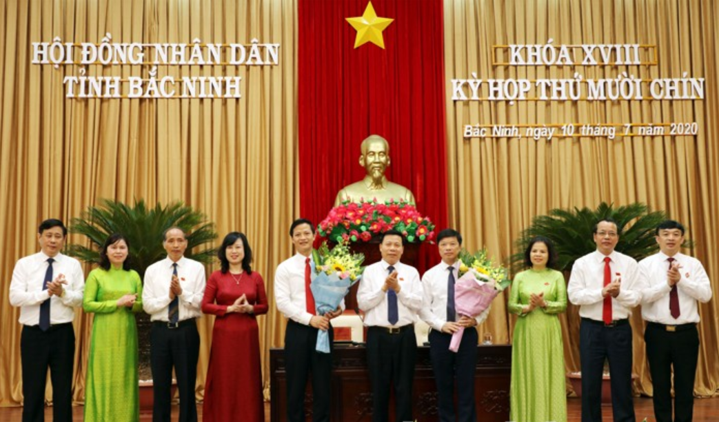 Bắc Ninh bầu 2 Phó Chủ tịch tỉnh mới