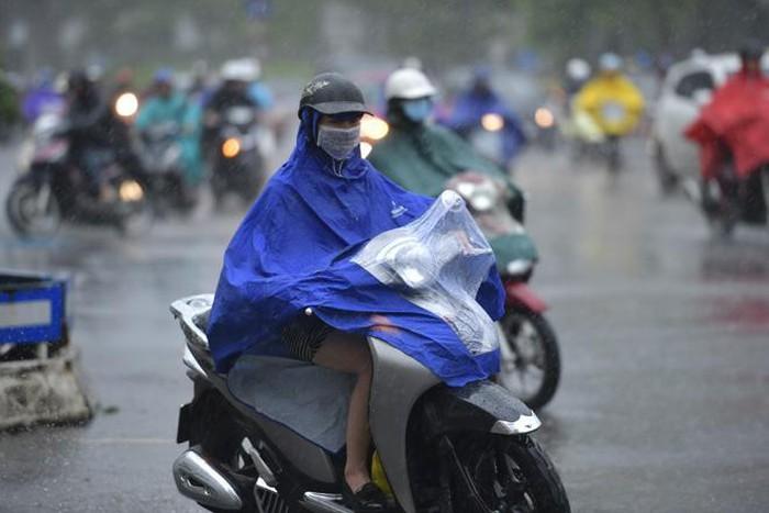 Bắc Bộ mưa trên diện rộng, có nơi mưa rất to