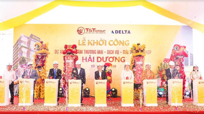 T&T Group khởi công xây dựng Trung tâm thương mại tại trung tâm TP. Hải Dương