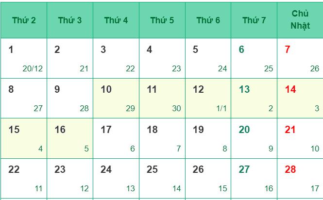 Đề xuất nghỉ 7 ngày liên tục dịp Tết Nguyên đán Tân Sửu 2021