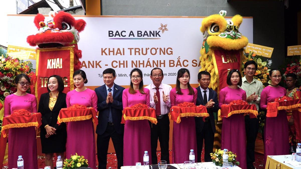 BAC A BANK mở rộng mạng lưới tại TP.HCM