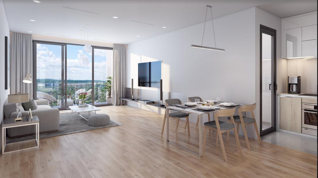 The Zei ra mắt căn hộ điển hình ngay tại dự án