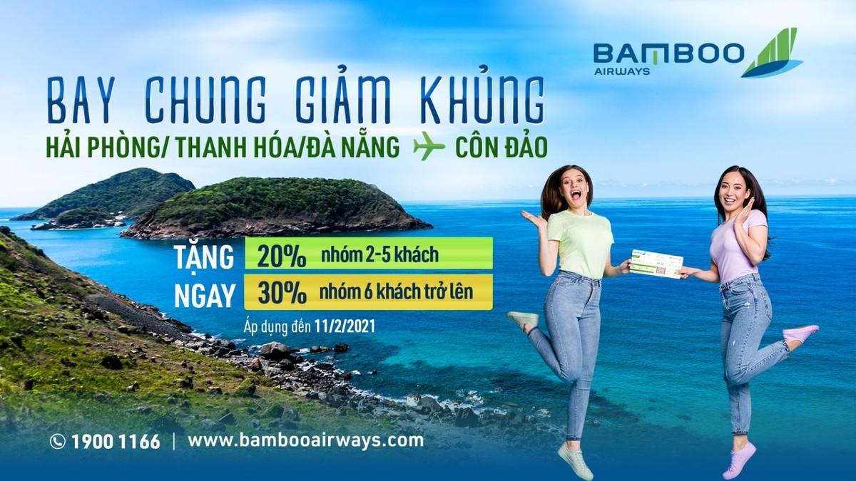 """""""Nóng"""" du lịch tâm linh dịp cuối năm, Bamboo Airways tung ưu đãi """"Bay chung giảm khủng"""""""