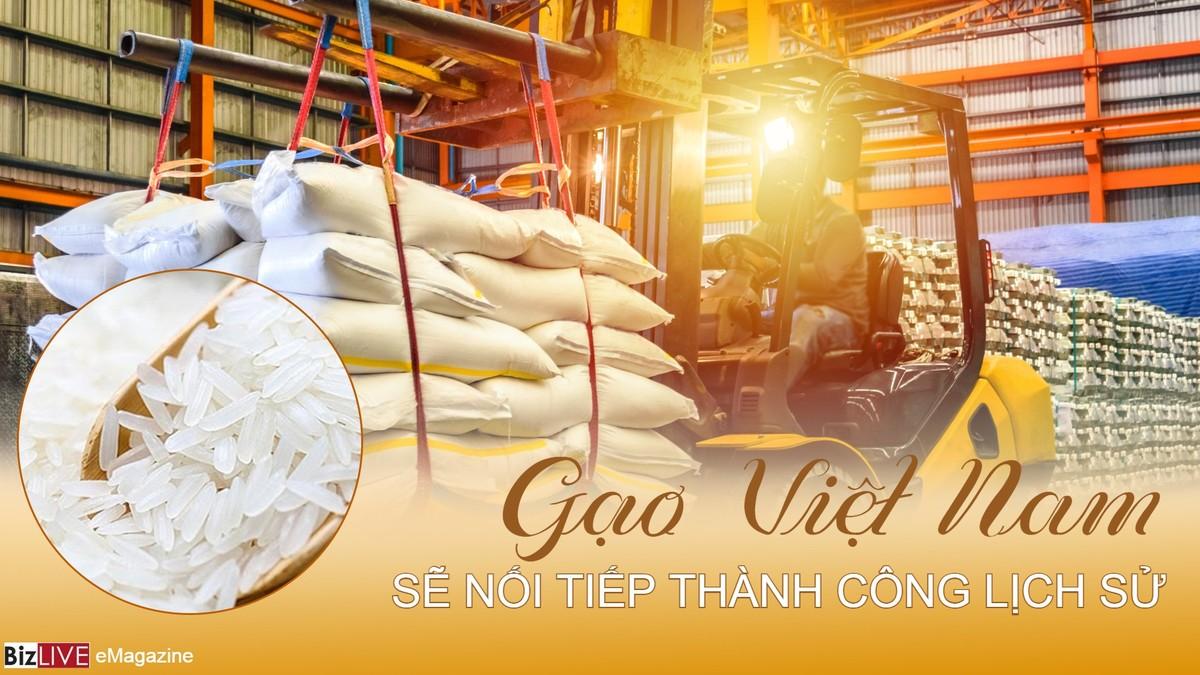 Gạo Việt Nam sẽ nối tiếp thành công lịch sử