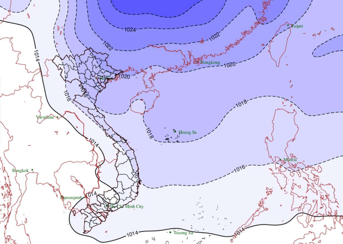 Không khí lạnh gây mưa rét kèm nồm ẩm cho Bắc Bộ