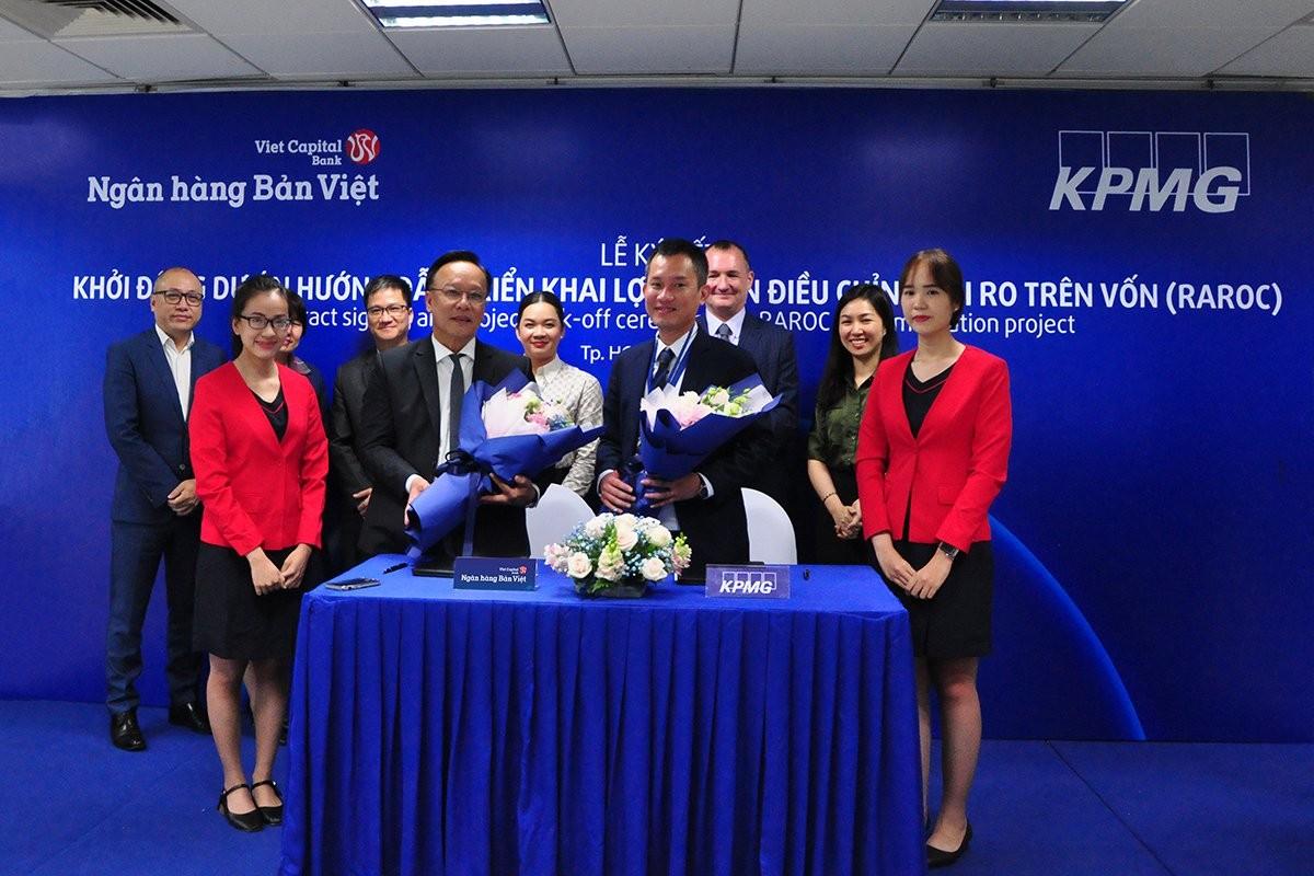 Ngân hàng Bản Việt hợp tác cùng KPMG triển khai dự án Lợi nhuận điều chỉnh rủi ro trên vốn