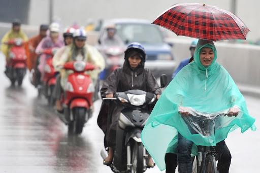 Bắc Bộ giảm nhiệt, Hà Nội đêm và sáng có mưa
