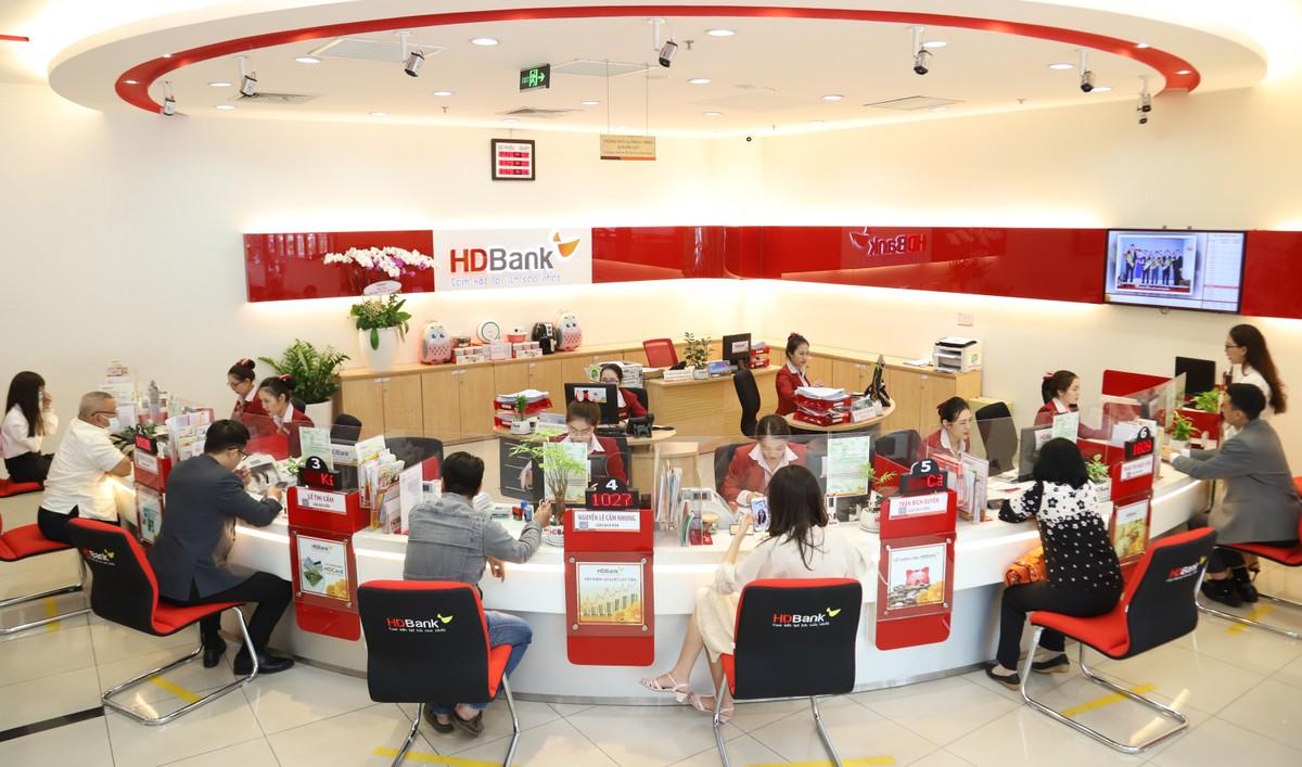 Quý 1 HDBank lãi trên 2.100 tỷ đồng, tăng 68%, thu dịch vụ tăng cao