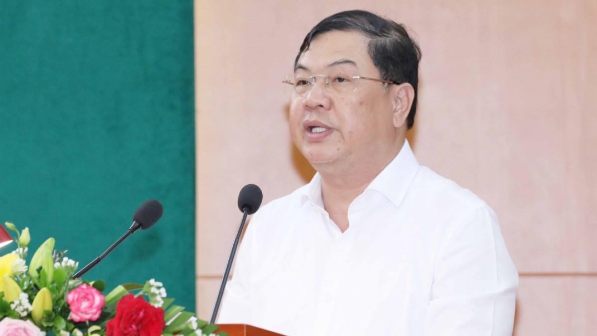 Phó Ban Nội chính Trung ương làm Bí thư Tỉnh ủy Nam Định