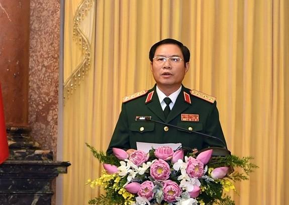 Thượng tướng Nguyễn Tân Cương làm Tổng Tham mưu trưởng Quân đội nhân dân Việt Nam
