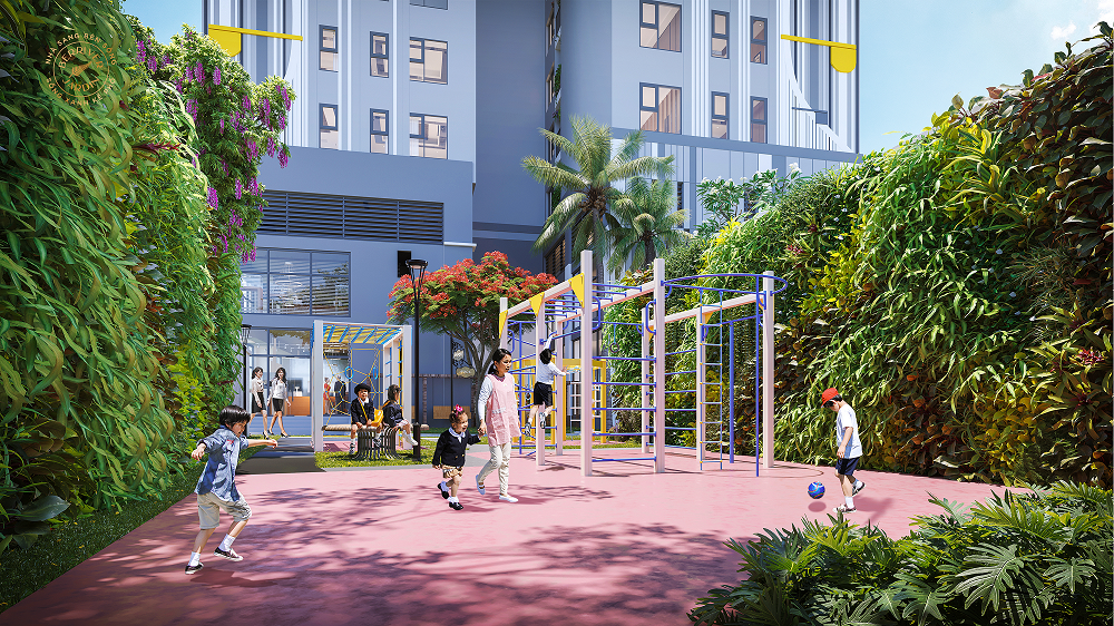 BerRiver Jardin: Sống sảng khoái giữa lòng thành phố bận rộn
