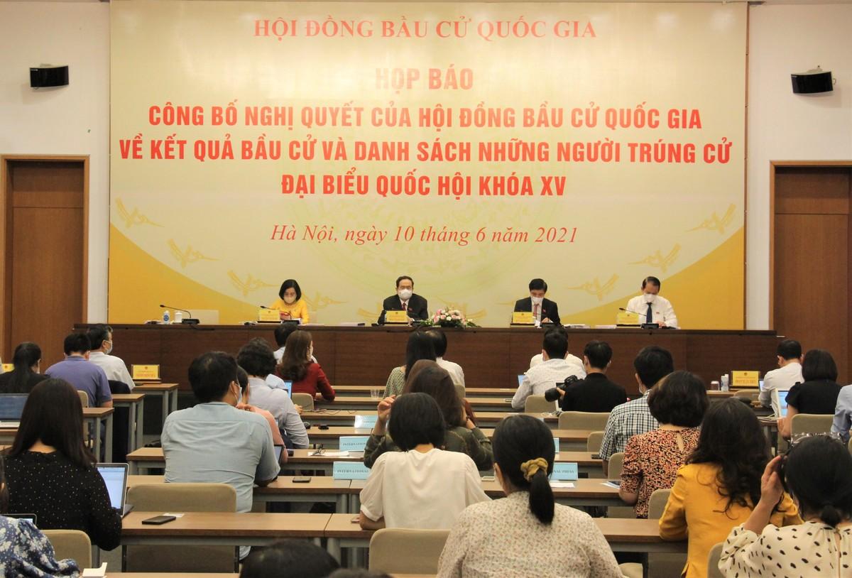 499 người trúng cử đại biểu Quốc hội khóa XV