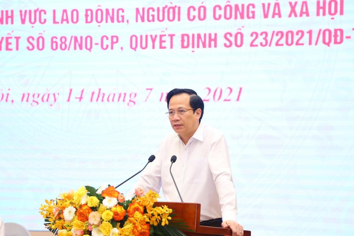Bộ trưởng Đào Ngọc Dung: Tập trung triển khai gói hỗ trợ 26.000 tỷ đồng, không để ai bị đói