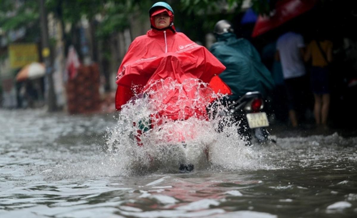 Cuối tuần Bắc Bộ mưa to, đề phòng lũ quét, sạt lở, ngập lụt